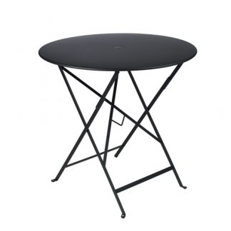 Bistro table 77 cm diameter in Liquorice
